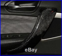 For 2012+ BMW 3 4 Series F30 F36 Real Carbon Fiber Door Interior Trim Handle 4Pc