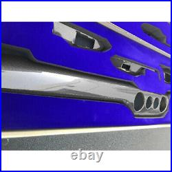 For 2015-2021 Ford Mustang S550 Gloss Real Carbon Fiber Interior Trim 10 Piece