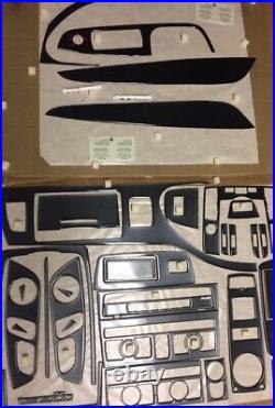 For Audi Q7 S Line Fit 2007 2015 Dash Trim Kit Carbon Fiber New Interior Set