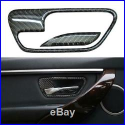 For BMW 3 Series F30 Carbon Fiber Trim Sticker Interior Decoration Decal Set