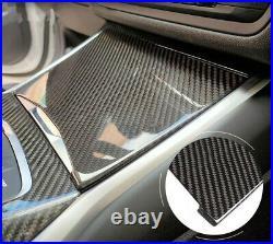For BMW 3 Series G20 2019 2020 Carbon Fiber Interior Gear Shift Knob Panel Cover