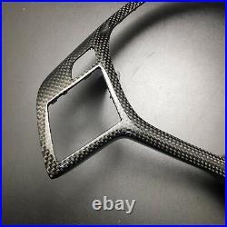 For Benz W176 W204 W117 W212 W207 W218 R172 Carbon Steering Wheel Cover Trim