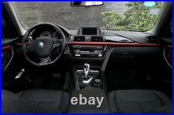 For Bmw F30 F31 F34 M Performance Gloss Black Red Sport Interior Trim Lhd
