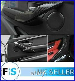 For Bmw Genuine Carbon Fibre Interior Door Handle Cover Trim 3 4 Series F30 F32