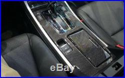 For Honda Accord 2015-2016 Gear Shift Panel carbon fiber cover Interior trim
