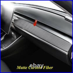 For Tesla Model 3 17-20 Model Y Car Interior Console Dashboard Panel Cover Trim