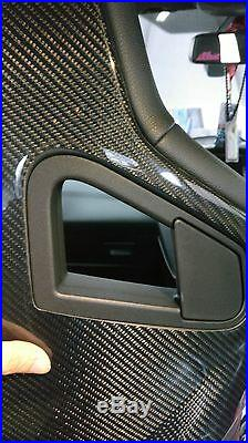 Ford 2016 Focus RS hatchback carbon fiber seatback cover 1 piece