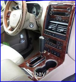 Ford Explorer Xlt Xls Limited Interior Burl Wood Dash Trim Kit 06 07 08 09 2010
