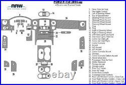 Ford F-150 F150 XL Xlt Stx Interior Wood Dash Trim Kit 2004 2005 2006 2007 2008