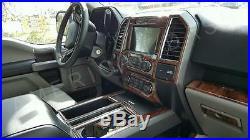 Ford F-150 F150 XL Xlt Super Crew Interior Wood Dash Trim Kit Set 2018 2019 2020