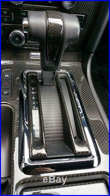 Ford Mustang 2010-up with nav Real Carbon Fiber Dash Kit interior auto basic kit