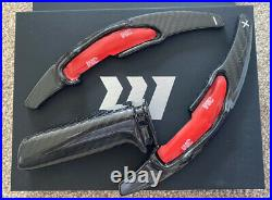 GMD Carbon Fibre Gear Handbrake, Paddle Interior Set-Fits BMW M3 F80 M4 F82 F83