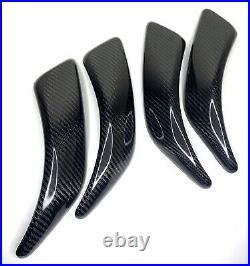 GMD Carbon Fibre Interior Door Handle Canards Fits 1 2 Series F20 F21 F22 F23