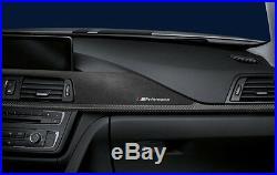 Genuine BMW F30 F31 F34 F36 M Performance Carbon Fibre & Alcantara Interior Trim