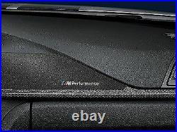 Genuine BMW F30 F31 F34 M Performance Carbon Fiber and Alcantara Interior Trim