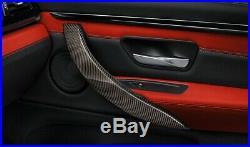 Genuine BMW F80/82/83 M3/M4 Carbon Interior Door Handle Trims 51412405921