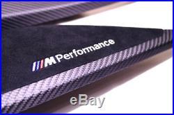 Genuine Bmw F30 F31 F34 F36 M Performance Carbon Fiber Interior Trim Kit NEW