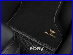 Genuine CUPRA Formentor & CUPRA Leon Carbon Fibre Carpet Mats 2020 Onwards