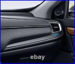 Genuine Carbon Fiber Led Illuminated Interior For Honda 5th Crv Cr-v 2017-2019