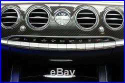 Genuine Mercedes Benz W222 S65 S63 S600 S550 S400 FUL CARBON FIBER Dash Interior