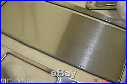 Honda Accord LX Ex Se Interior Aluminum Dash Trim Kit Set 03 2004 2005 2006 2007