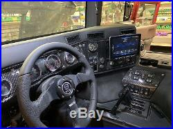 Hummer H1 Alpha Interior Trim Kit. 100% Carbon fiber