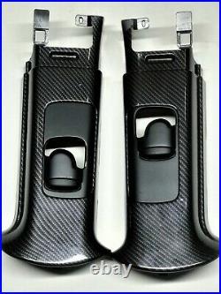Hydro dipped Carbon Fiber A, B & C Pillar trims Mini Cooper R50 R53