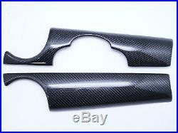 Interior Carbon Dash board Kit Panel For 07-13 Mini Cooper R55 R56 R57 R58 R59