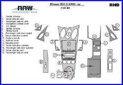 Interior Carbon Fiber Dash Trim Kit For Nissan 350z 350 Z Z33 2002 2003 204 2005