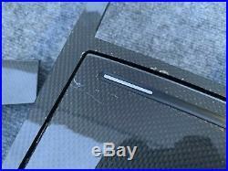 Interior Carbon Fiber Trim Set Door Dash Console Complete Oem Audi A8 A8l S8