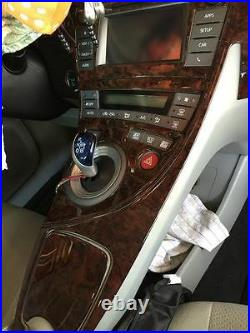Interior Wood Dash Trim Kit Set For Toyota Prius 2010 2011 2012 2013 2014 2015