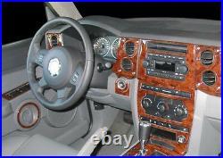 Jeep Commander Base Sport Limited Interior Burl Wood Dash Trim Kit Set 2006 2007