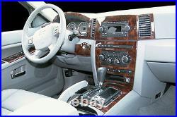 Jeep Grand Cherokee Laredo Limited Interior Wood Dash Trim Kit Set 2005 06 2007