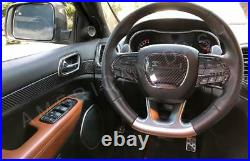 Jeep Grand Cherokee Srt 8 Interior Real Carbon Fiber Dash Trim Kit Set 2014 2015