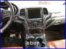 Jeep Grand Cherokee Srt Interior Real Carbon Fiber Dash Trim Kit 2011 2012 2013