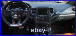 Jeep Grand Cherokee Srt Interior Real Carbon Fiber Dash Trim Kit Set 2014 2015