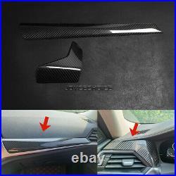 LHD Carbon Fiber Car Interior Dashboard Panel Trim For BMW 4 Series G22 20-2021