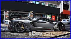 Lamborghini Aventador Lp700 Carbon Fiber DM Style Gt Limit Full Body Kit Front