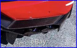 Lamborghini Huracan Lp610 LP580 Portion Carbon Fiber Rear Bumper Diffuser