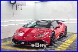Lamborghini Lp610/580 Huracan Ms Style Carbon Fiber Body Kit Spoiler Front Rear