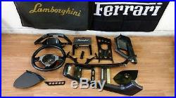 Lamborghini Murcielago Lp640 Carbon Fiber Interior Trim Set Oem