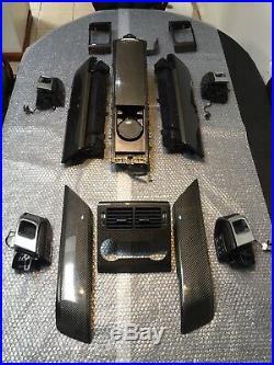 Land Rover Range Rover Sport L494 2018+ OEM Carbon Fiber SVR Interior Trim 14 Pc