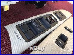 Lexus 06-14 Is-f Carbon Fiber Interior Trims Set Center Console Switches Isf Oem