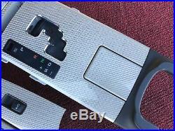 Lexus Is-f Isf F-sport Carbon Fiber Interior Trims Set Center Console Switch Oem