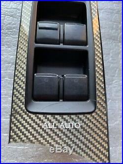 Lexus Is-f Isf F-sport Carbon Fiber Interior Trims Set Rh Lh Front Door Bezels