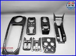McLaren MP4-12C 650S 675LT 7 Pieces Gloss Finish Carbon Interior Trim Kit