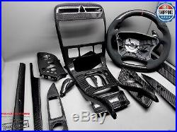 Mercedes 03-06 Facelift W215 CL500 CL55 CL65 CL600 Carbon Interior Trim Kit 14pc