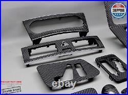 Mercedes 2007-2011 W463 G55 G500 G350 CDI G320 9 Pcs Carbon Interior Trim Kit