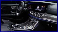 Mercedes-Benz OEM W213 E Class Carbon Fiber Interior Trim Kit 7 Piece Brand New
