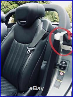 Mercedes SL R230 Carbon Fiber Fibre Interior Rear Jam Plate Top Covers